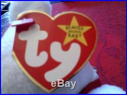 Ty Beanie Baby 96 Maple Super Rare Oddity 3 INDONESIA Canadian Tags/Un-Numbered