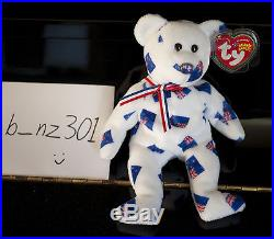 Ty Beanie Baby'Aotearoa' (New Zealand) with rare FLAG NOSE MWMT