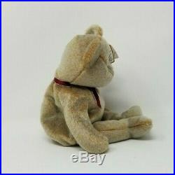 Ty Beanie Baby Babies RARE 1999 SIGNATURE Bear Excellent Condition RETIRED