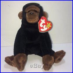 Ty Beanie Baby CONGO THE GUERRILLA 11-9-1996 Style 4160 PVC NO STAR RARE ERRORS