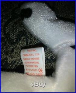 Ty Beanie Baby Dotty Sparky 1996 Dalmatian Dog Very Rare Tag Mistake PVC Pellets