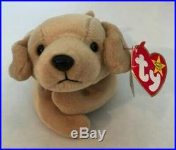 Ty Beanie Baby Fetch The Golden Retriever 1997 Retired Rare Vintage