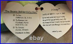 Ty Beanie Baby Hissy 1997 Rare Tag Errors