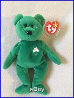 49741f2b381 Ty Beanie Baby Original Erin Retired