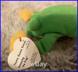 d435f158ca5 Ty Beanie Baby Teenie Smoochy Original 1993 Rare PVC