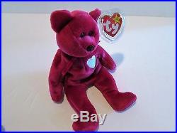 Ty Beanie Baby-valentina-rare Valentina Bear Ty Beanie Baby With Multiple Errors