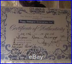 Ty Princess Diana AUTHENTICATED INDO. GHOST VERSION Super Rare! PVC + Space