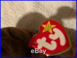 Ty Rare Beanie Baby Seaweed