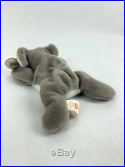 Ty Rare Retired Mel style#4162 The Koala Beanie Baby 1996 with Errors