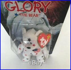 Ty Teenie Beanie Baby Glory The Bear, Ronald McDonald House CharitiesRare