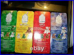 Ty teenie Beanie Babies Rare McDonald's 4 Teenie Special International Set