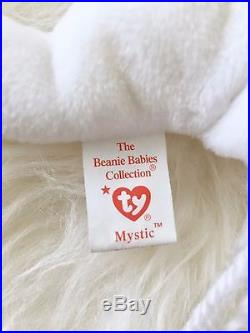 VERY RARE Mystic Beanie Baby with Iridescent Horn 1993-1994 with Tag Errors