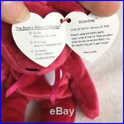 Valentina Beanie Baby- 3 ERRORS Rare- Collectible