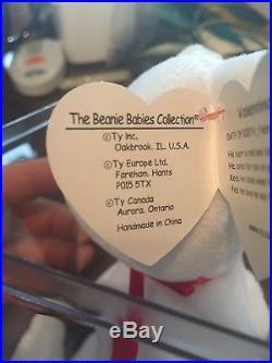 Valentino beanie baby Uber Rare Mint