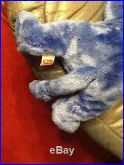 Very Rare14 Ty Beanie Buddies Peanut 1998 Royal Blue Nothing Like The Pictures