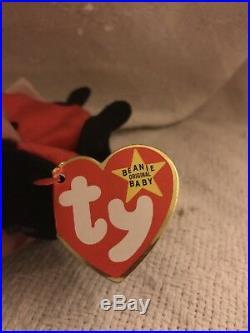 Very rare Lucky 7 Dot Tag Mistake Beanie Baby