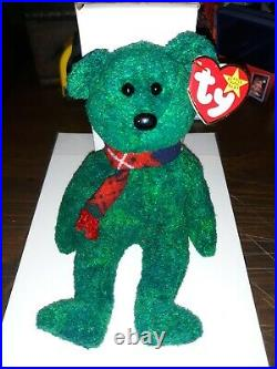Wallace Retired Ty Beanie Baby Multiple Tag Errors Scottish Bear NWT VERY RARE